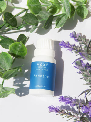 Load image into Gallery viewer, MOXE Breathe Essential Oil with Lavender, Peppermint, Eucalyptus, Tea Tree  Edit alt text