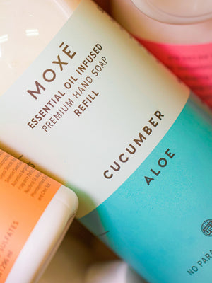 Load image into Gallery viewer, MOXE Cucumber Aloe Premium Hand Soap Refill