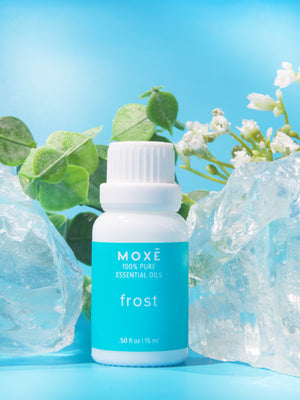 MOXĒ Frost made with wintergreen and peppermint essential oil