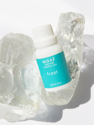Awaken the senses with MOXĒ Frost Essential Oil Blend