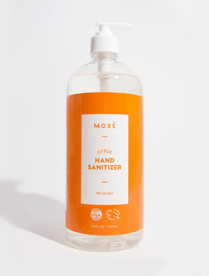 Load image into Gallery viewer, MOXĒ 32 oz Citrus Hand Sanitizer