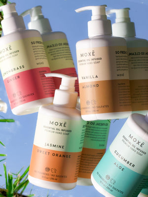Load image into Gallery viewer, MOXĒ Premium Hand Soap Set