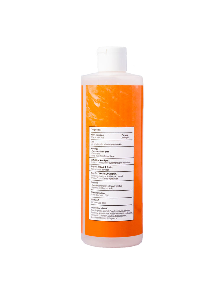 Citrus Hand Sanitizer Gel - 12 oz