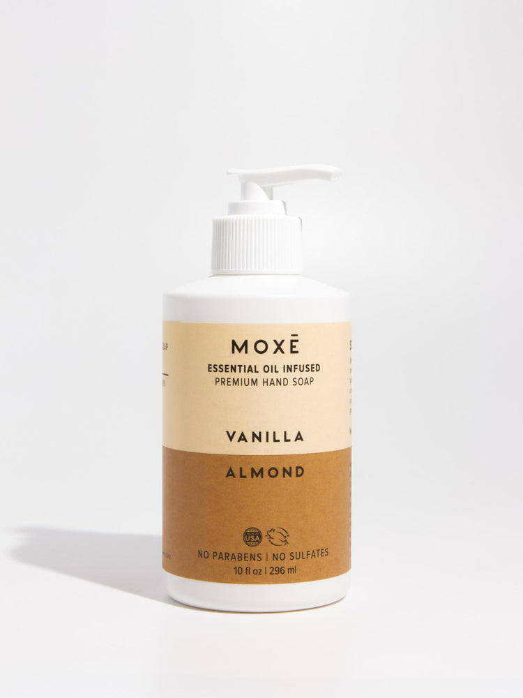 Load image into Gallery viewer, MOXĒ Vanilla Almond Hand Soap