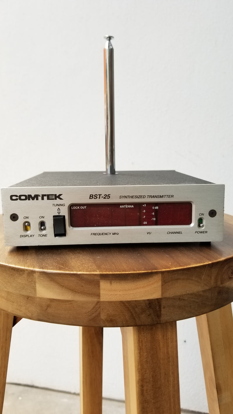 Used Comtek BST-25 TV 5/6 Base Station Transmitter