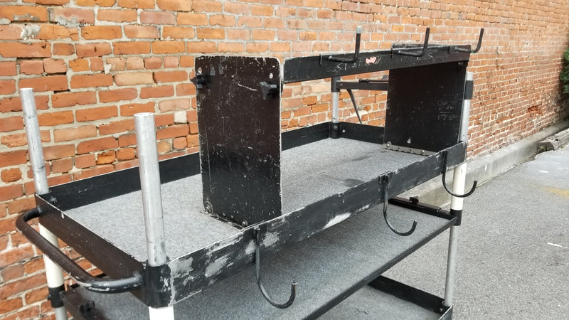Custom Backstage Sound Follow Cart - Used