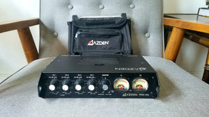 Used - Azden FMX42a  Portable 4 Channel Mixer