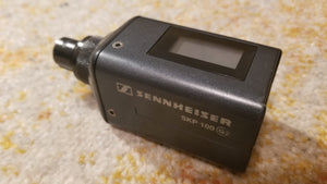 Used Sennheiser SKP 100 G2 Plug-On Transmitter (Range B)
