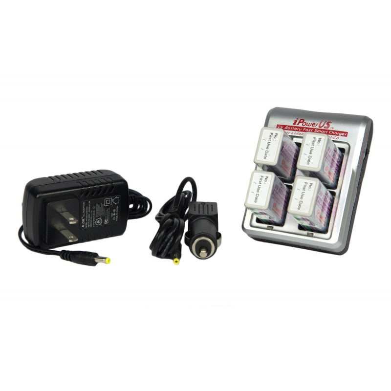 I-Power 9V Rechargeable Battery Charger by iPower