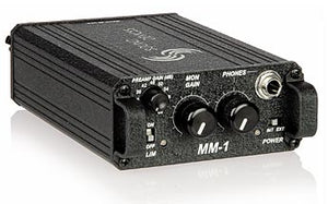 Sound Devices MM-1 Line Driver / HP Monitor