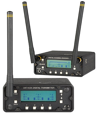 Lectrosonics D4R - Digital 4-Channel Wireless Receiver