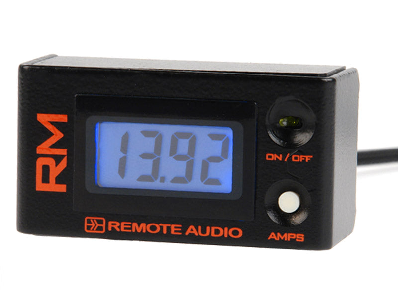 Remote Audio RMV2 Remote Meter  Volt meter, Amp meter, and ON/OFF Controller for BDS, MEONv2, MEON L