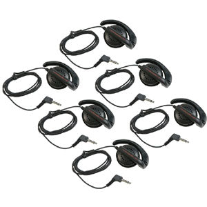 Remote Audio EAR BUD 6 Six Single Ear Speakers w/ flexible ear hook
