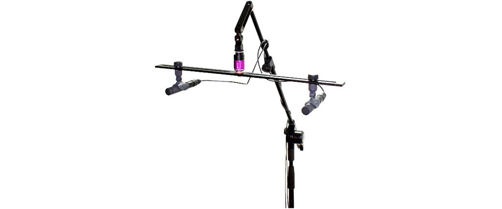 Ambient Recording Stereo Bar - Stereo Microphone Mount