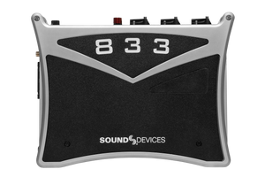 Sound Devices 833 Portable Compact Mixer-Recorder