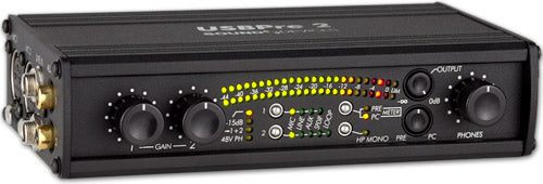 Sound Devices USBPre 2 High-Resolution, Portable Hardware Interface for Mac- and Windows-based Digi