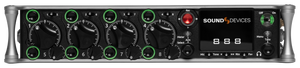 Sound Devices 888 Portable Production Mixer-Recorder