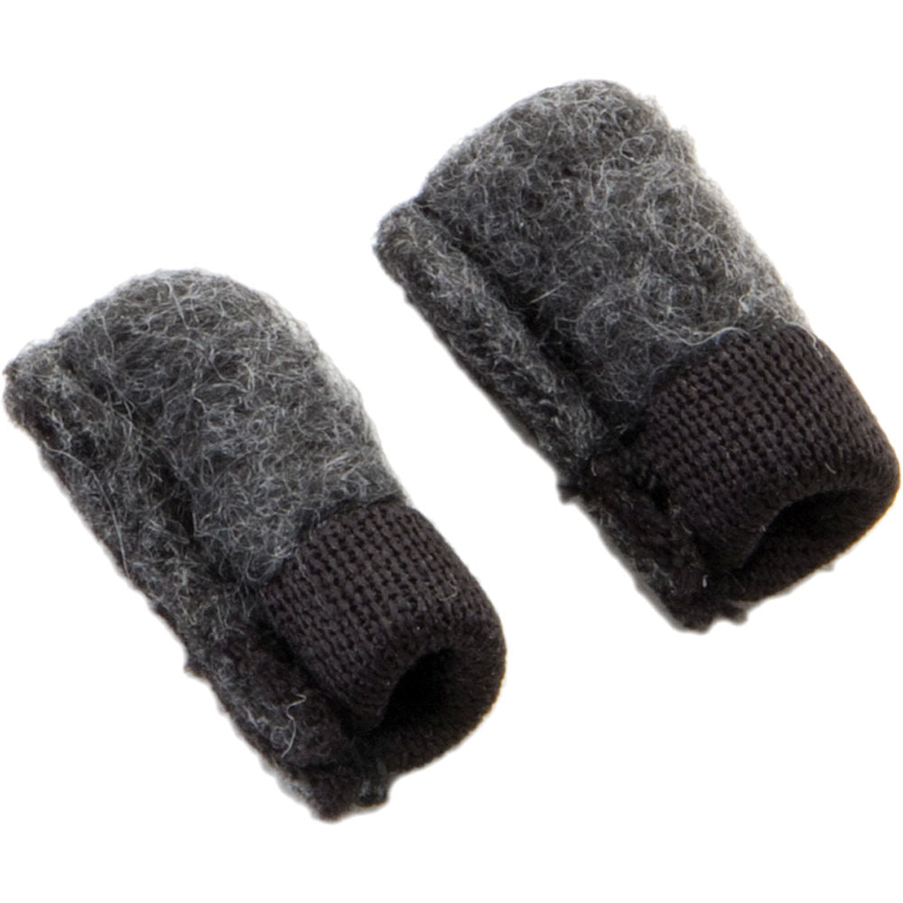 K-Tek KTMM- Pair of fleece toppers for small lav mics