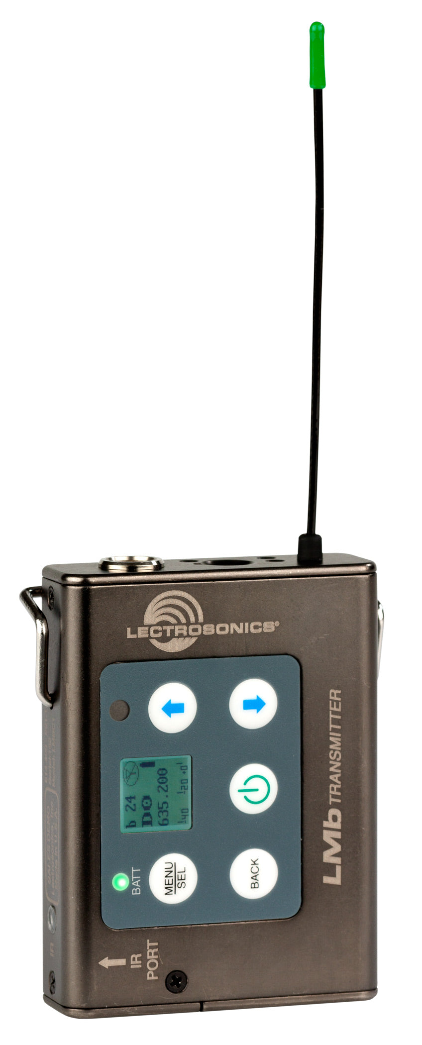 Lectrosonics LMb L Series Digital Hybrid Wireless UHF Belt-Pack Transmitter