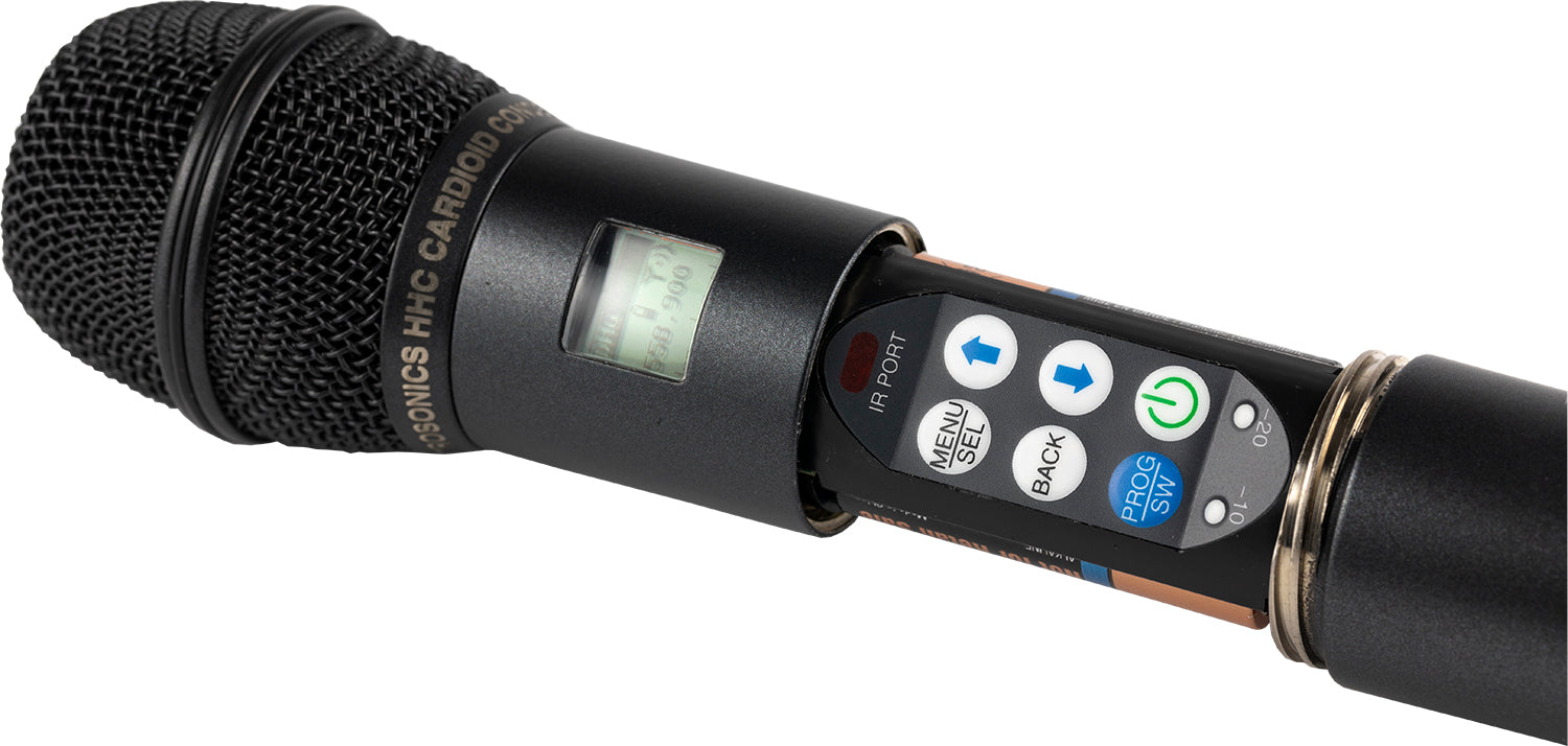 Lectrosonics DHu - Wireless Handheld Transmitter