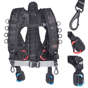 K-Tek KSHRN3 Stingray Harness (3rd Gen)