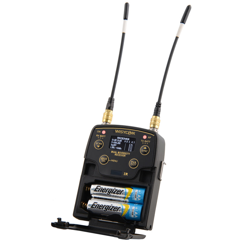 Wisycom MPR52 Dual Channel Bundle - 940mHz