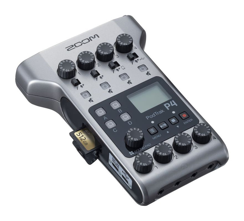 Zoom PodTrack P4 Podcast Recorder