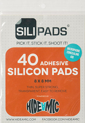 Sili Pads by Hide-A-Mic