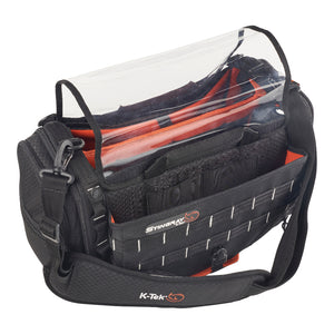 Stingray by K-Tek KSTGM - Medium Audio Mixer Recorder Bag for 788T and Nomad