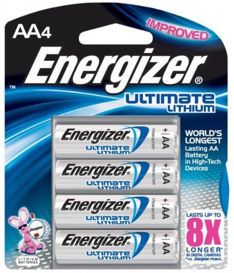 Energizer Ultimate Lithium AA - 4 Pack
