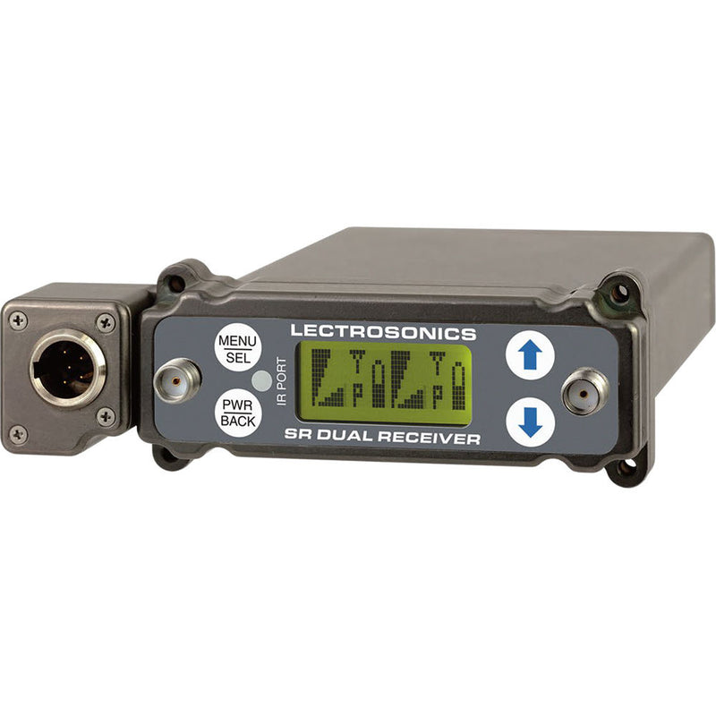 Lectrosonics SRc Wideband SR Dual-channel Slot Receiver
