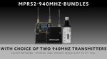 Wisycom MPR52 Dual Channel Kit - 940mHz