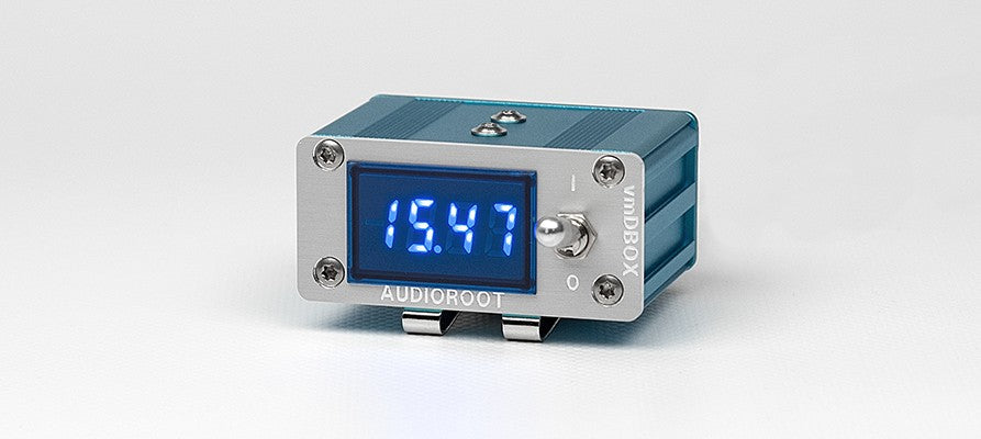 Audioroot vmDBOX-HRS Power distributor for sound bag with built-in voltmeter