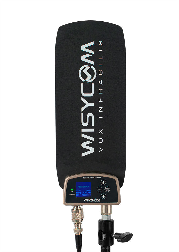 Wisycom ADFA Omnidirectional Active Antenna with Remote Controlled Filters