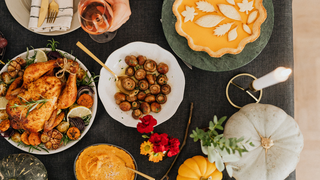 Give Thanks For A Little And You Will Find A Lot! How To Do Thanksgiving In Style