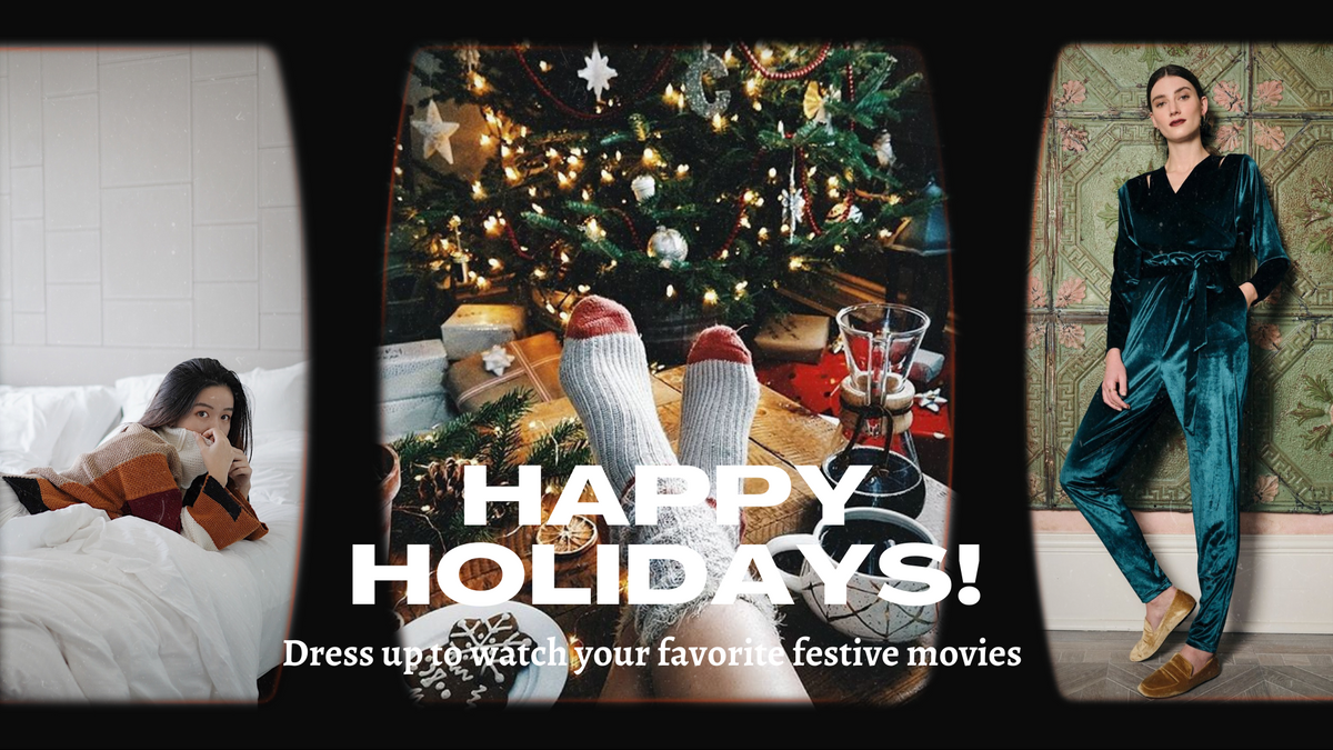 Our Favorite Festive Films For Christmas & What To Wear To Watch Them