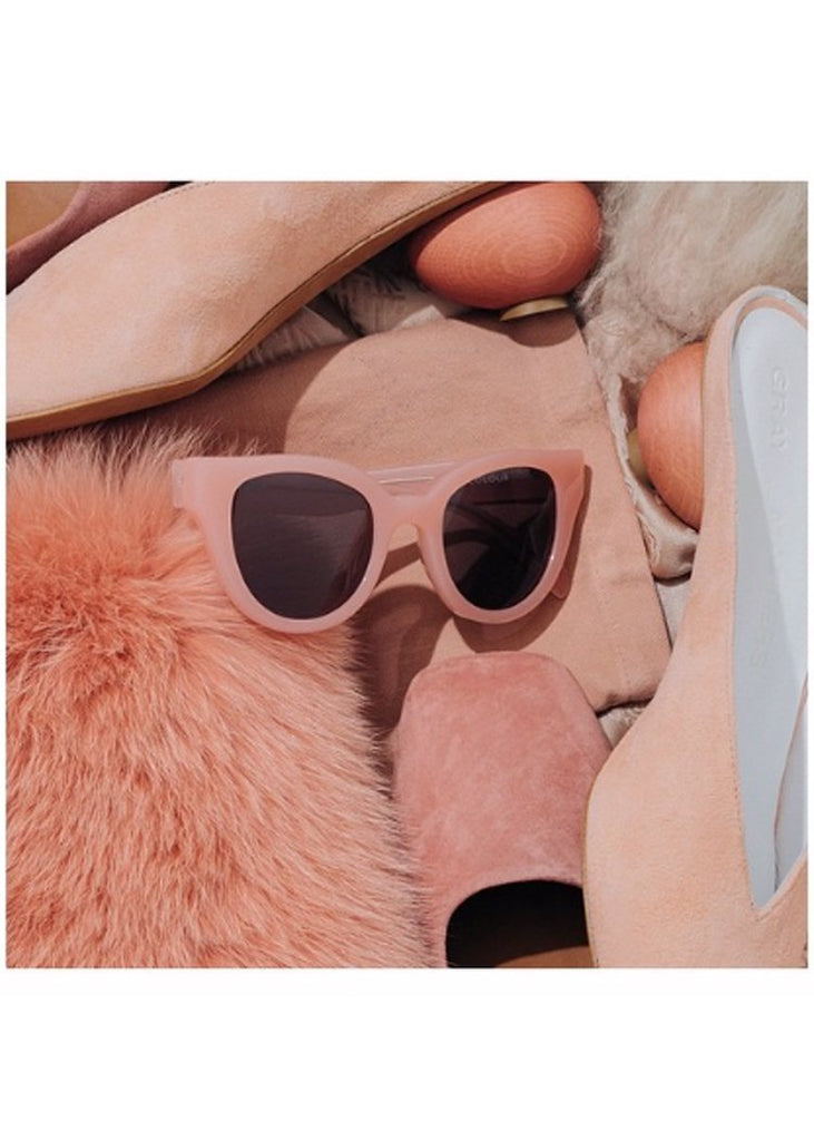 Carla Colour Sunglasses - BARTON Flesh + Haze