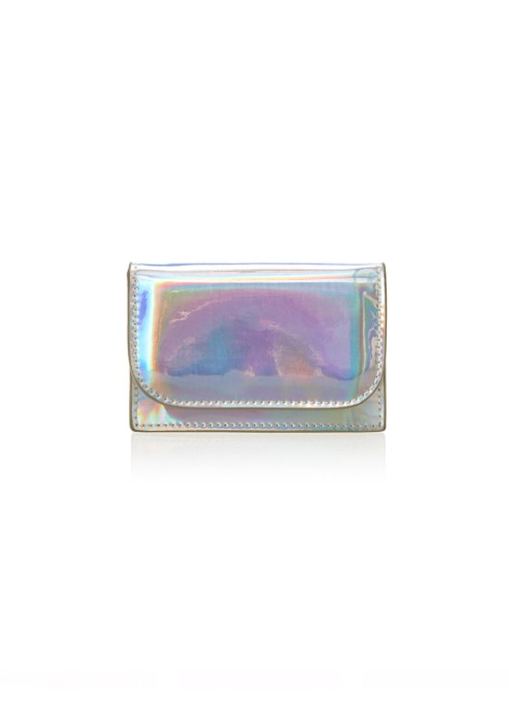 Iris Maree Metallic Card Holder