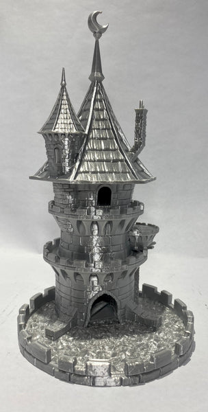 Silver Filament Wizard Tower