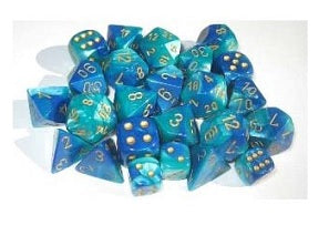 Gemini Polyhedral 7-Die Set - Multiple Colours
