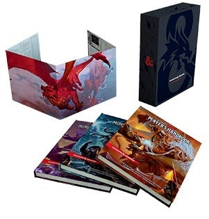 Dungeons and Dragons 5th Edition Core Rule Book Gift Set