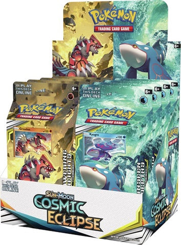 Pokémon: Sun & Moon: Cosmic Eclipse Theme Decks