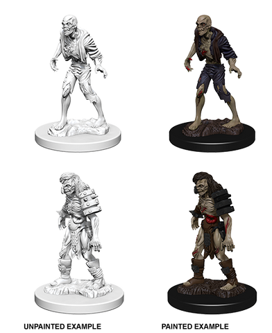 D&D Miniatures: Nolzur's Marvelous Miniatures: Zombies