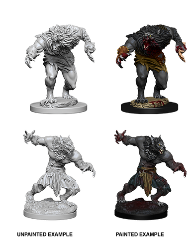 D&D Miniatures: Nolzur's Marvelous Miniatures: Werewolves