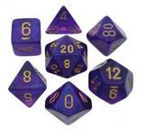 Borealis Polyhedral 7-Die Set - Multiple Colours