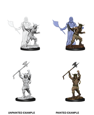 D&D Miniatures: Nolzur's Marvelous Miniatures: Human Barbarian