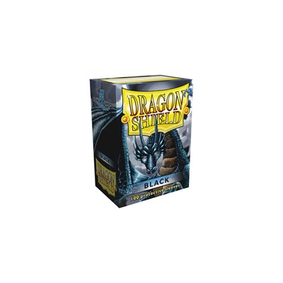 Dragon Shield Black Classic Sleeves (100ct)