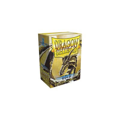 Dragon Shield Gold Classic Sleeves (100ct)