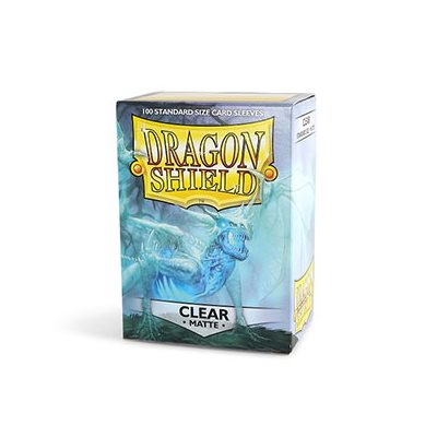 Dragon Shield Clear Matte Sleeves (100ct)