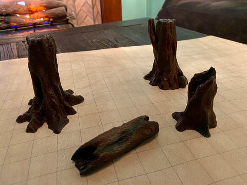 Scatter Terrain Pack: Tree Set 1